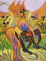 "Betty LaDuke's ""Millet Rhythms"" will be on display through Oct. 20 at the Paris Gibson Square Museum of Art."