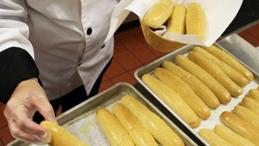 Olive Garden is known for its unlimited breadsticks.