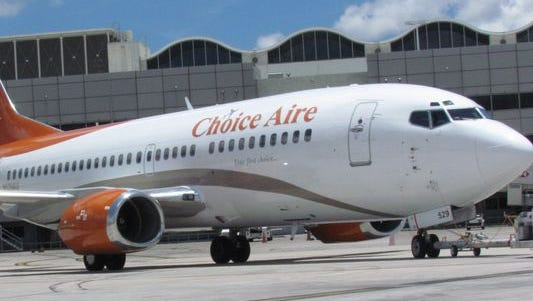 Choice Aire already has flights from Miami (shown here) and other major airports.