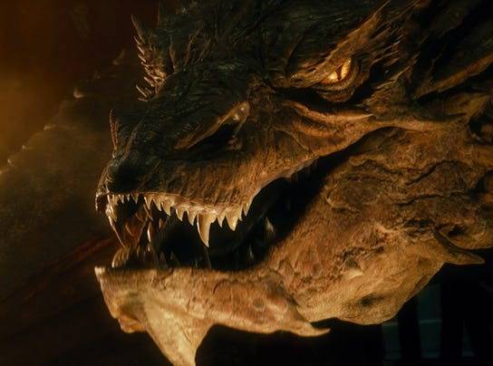 scaly  Hobbit  star Smaug Smaug The Hobbit 2013 Flying