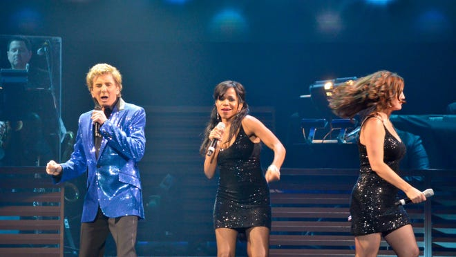 Barry Manilow performs at the Pensacola Bay Center on Jan. 30, 2014. Manilow will return to the Bay Center on Jan. 28, as part of what the legendary singer/songwriter says will be his final tour.
