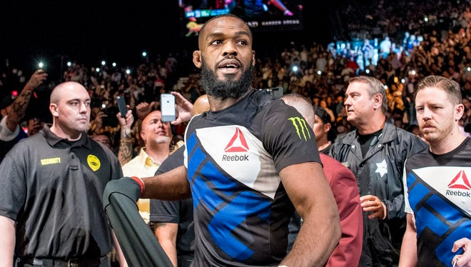 Jon Jones was scheduled to fight Daniel Cormier for the UFC light heavyweight title.