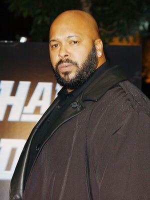 "Music producer Suge Knight attends the Los Angeles premiere of ""Half Past Dead"" at Loews Century Plaza Cinema on November 7, 2002 in Century City, California."