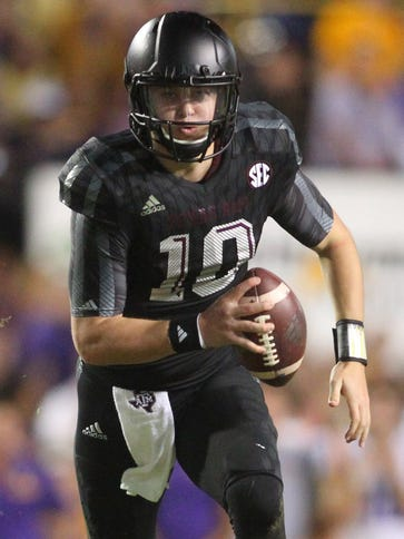 Kyle Allen (10) will have two seasons of eligibility