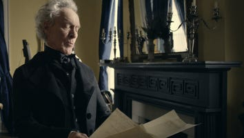 """A still from the new """"Jackson"""" movie shown to visitors at The Hermitage. Actor Patrick Gorman plays Andrew Jackson."""