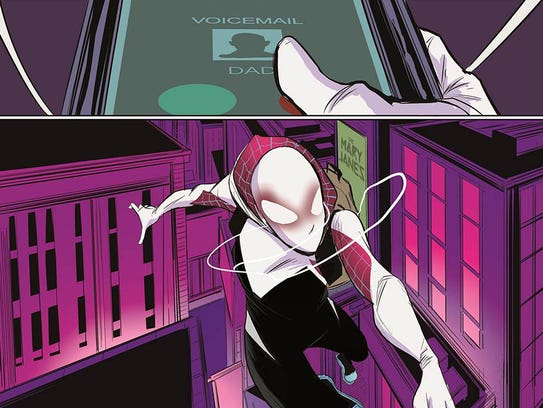 spidergwen puts female spin on an icon