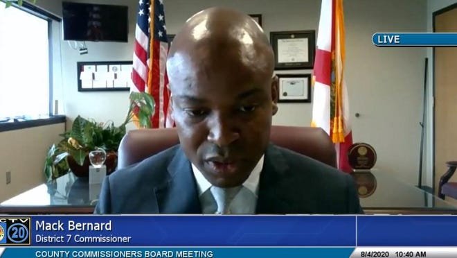 Palm Beach County Commissioner Mack Bernard pushed Tuesday for an item on the ballot that would ask voters if the board should expand by two seats, including a new district to encompass Hispanic-majority communities.