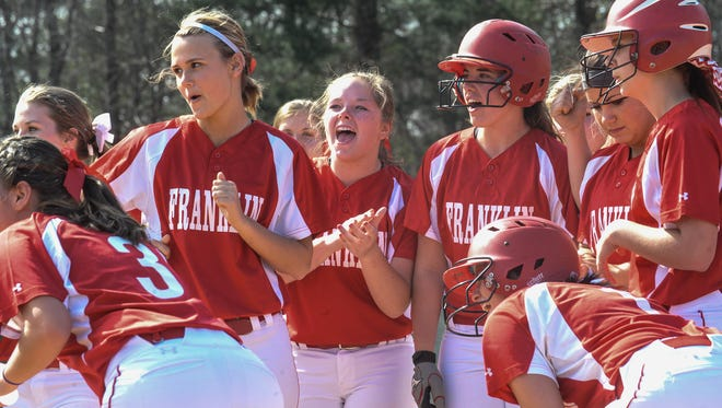Three seniors from the Franklin softball team have committed to play the sport in college.