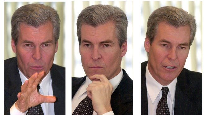 Terry Lundgren in 2003 after becoming CEO of  Federated Department Stores, which later becomes Macy's Inc.