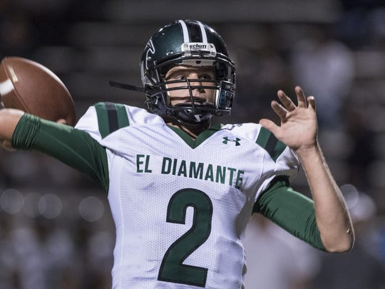 El Diamante senior Parker Boswell is entering his third
