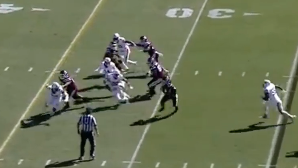 After every downfield block is missed, Auburn has at