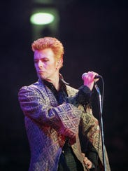 FILE - In this Jan. 9, 1997, file photo, David Bowie