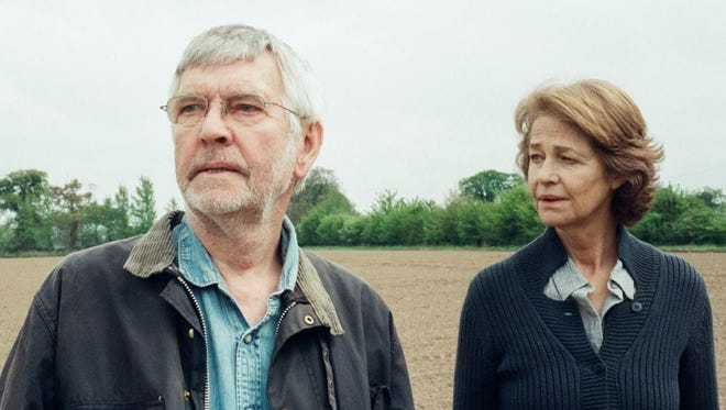 Tom Courtenay and Charlotte Rampling star in '45 Years,' a haunting look at how secrets can destroy a marriage.