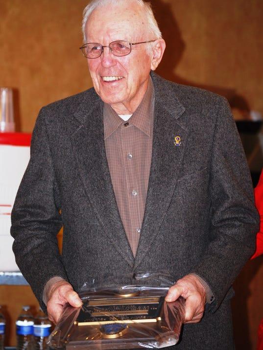 Tom Caw - Lions Club Award 052014
