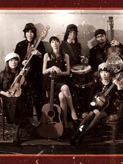 Pirates Canoe, a Japanese American roots band, will perform March 25 at Unison Arts Center, New Paltz.