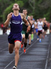 Mount Gilead's Austin Hallabrin has qualified for the Division II state meet in the 1,600 meter run and as anchor of the school record-setting 4x400 relay after medaling last season in the 800 meters.