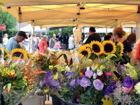 """The Teaneck Farmers' Market is holding a multi-level event: a """"flash mob"""" version."""