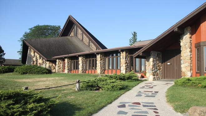 The Abbey of the Genesee chapel and visitors center area on Aug. 2, 2011.