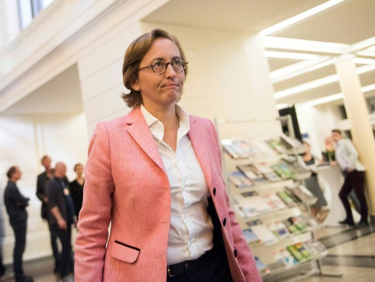 Beatrix von Storch of the populist AfD (Alternative