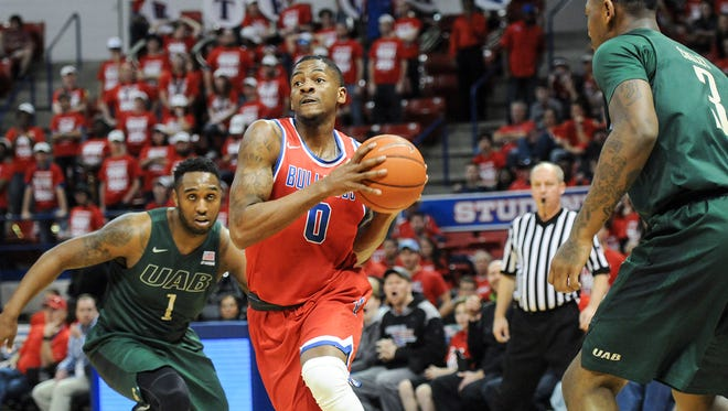 Louisiana Tech senior guard Alex Hamilton earned Conference USA Player of the Year in 2016.