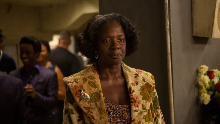 Viola Davis reunites with 'The Help' director Tate Taylor in 'Get on Up,' a new James Brown biopic in which Davis plays James Brown's mother.