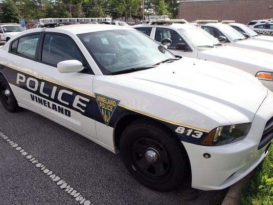 Vineland Police blotter for Nov  1