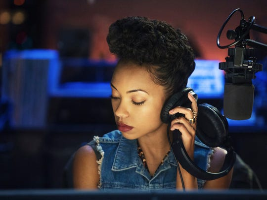 Logan Browning as Samantha on 'Dear White People.'