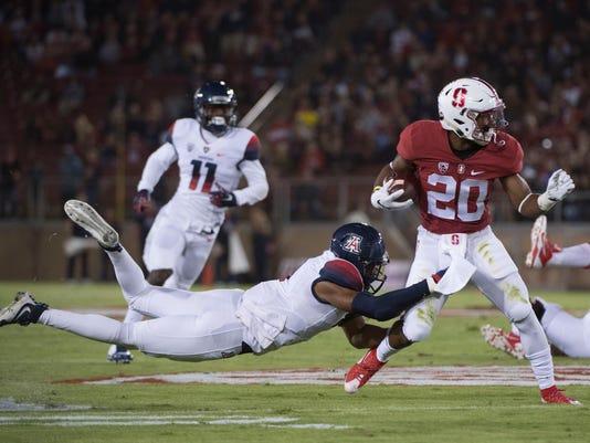 NCAA Football: Arizona at Stanford