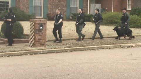 Authorities going door-to-door in Germantown searching for second suspect is burglary that led to shots fired