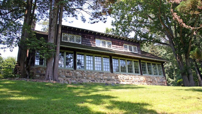 The Stickley Museum at Craftsman Farms in Morris Plains is a 1911 log house that served as the home of turn-of-the-century designer Gustav Stickley.