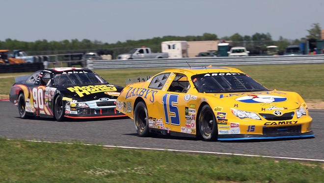 The ARCA Racing Series Great Railing 150 at New Jersey Motorsports Park in Millville in 2014.