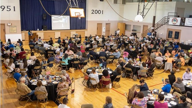 In the past, the Hispanic Heritage Luncheon has been hosted in the Wesley Community Center. This year, because of the ongoing COVID-19 pandemic, it had to be moved to a virtual format.