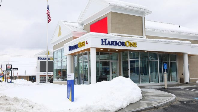 A HarborOne branch in Stoughton at 470 Washington St. that opened on March 4, 2019.