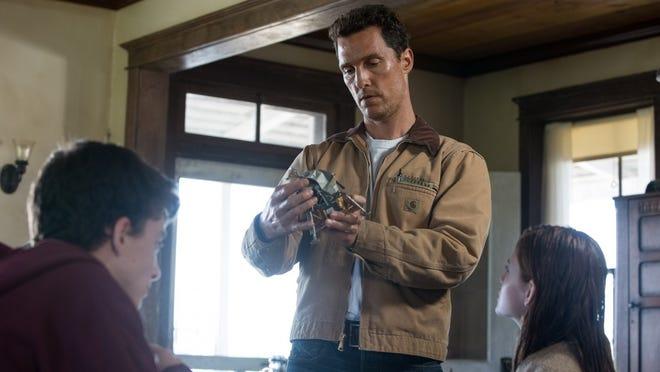 """Matthew McConaughey is Cooper in """"Interstellar."""""""