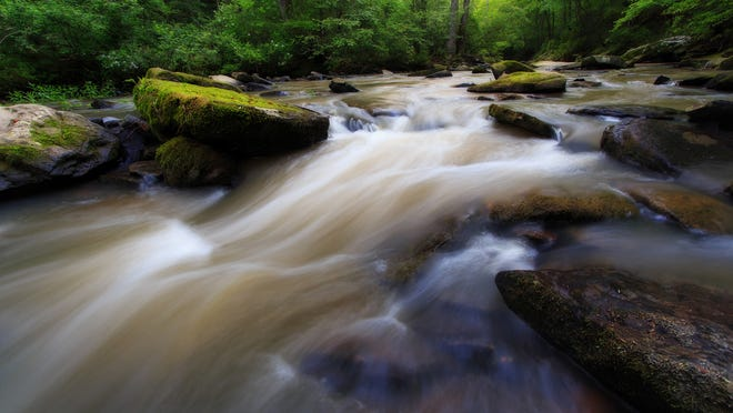 This image of Vinemont Cascade by Keith Bozeman took first place in the Scenic category of the 2014 Outdoor Alabama photo contest.