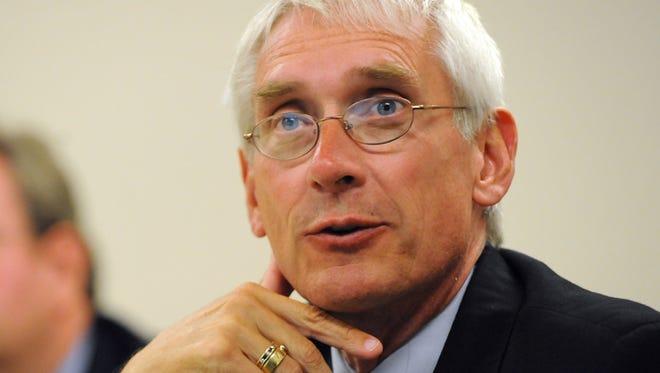 Wisconsin school superintendent Tony Evers.