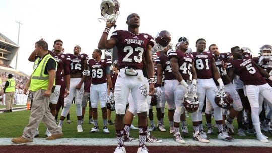 Mississippi State cornerback Taveze Calhoun was named