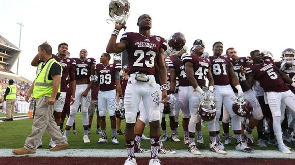 Mississippi State cornerback Taveze Calhoun was named a semifinalist for the Campbell Award.