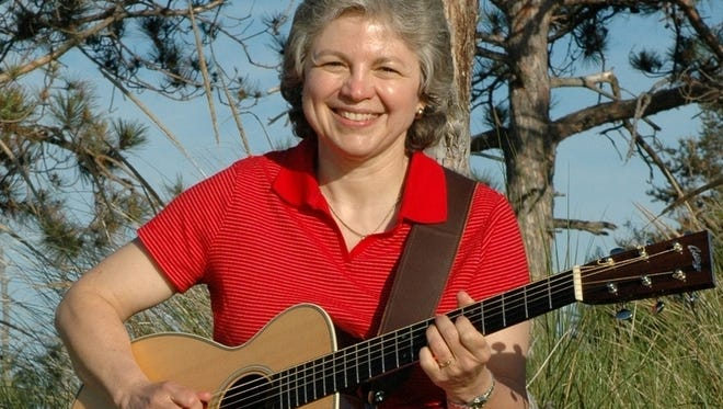 Judy Insley will be at the Farmington library at 2 p.m. Sunday, Oct. 9, for Songwriter Sunday.