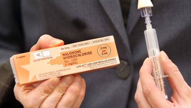 Naloxone, an antidote to opioid drug overdoses, saveslives through injection or nasal spray.