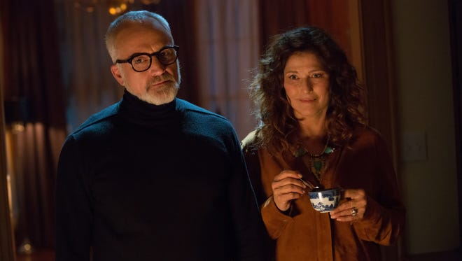 """In """"Get Out,"""" don't Dean (Bradley Whitford) and Missy Armitage (Catherine Keener) seem like the ideal parents? Guess again."""