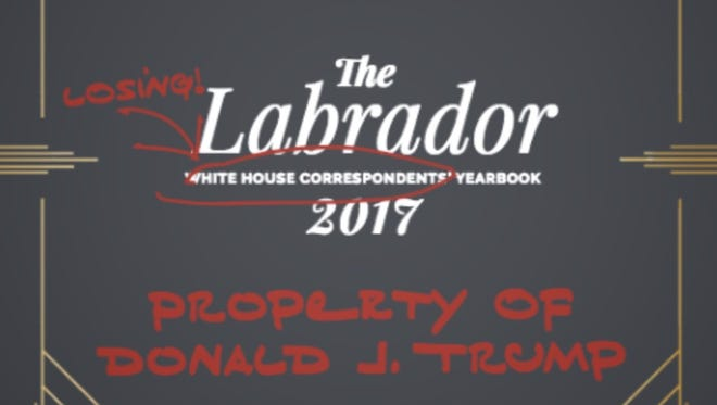 The first page of the 2017 edition of The Labrador