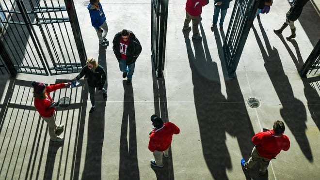 Fans trickle through the gates to see Peoria Chiefs games in 2019 at Dozer Park in Peoria. The 2021 season is set to open May 4, with the Peoria Chiefs home opener slated for May 11.