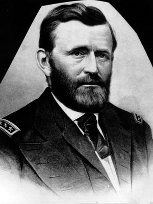 This is an undated photo of a sketch of Gen. Ulysses S. Grant.  Grant led the Union Army to victory during the American Civil War, and accepted the Confederate surrender at Appomattox Court House in 1865.  He was made full general in 1866, and was elected U.S. President in 1868 and 1872.