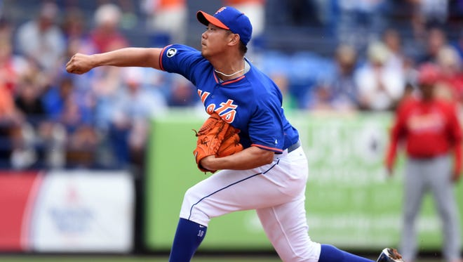 The Mets' Daisuke Matsuzaka had a strong outing against St. Louis on Monday as he strives for the fifth-starter spot.