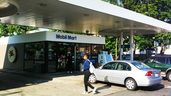 The Mobil Mart at 334 Grafton St. in Worcester