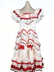 Tejano siTejano singer Lydia Mendoza's performance dress is part of the exhibition. She was born May 21, 1916, in Houston and died Dec. 20, 2007, in San Antonio at the age of 91.