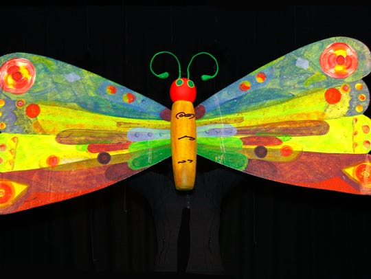 """""""The Very Hungry Caterpillar"""" by Eric Carle."""