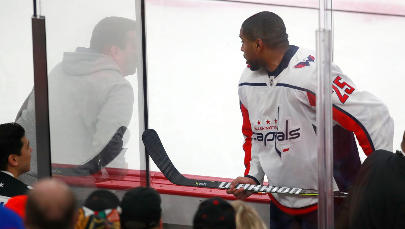 NHL condemns Chicago fans' racist comments toward Capitals' Devante Smith-Pelly