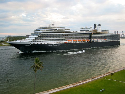 The 86,700-ton, 2,104-passenger Eurodam was the first of two Signature Class ships commissioned by Holland America Line.